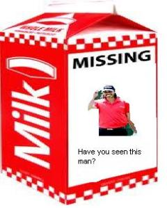 Jason Day Missing