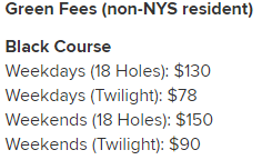 Bethpage State Park Golf Courses
