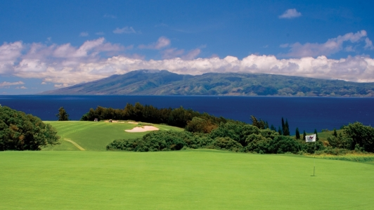 Image result for kapalua plantation course image
